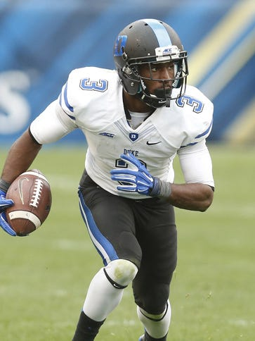 Duke WR Jamison Crowder is the ACC's all-time leader