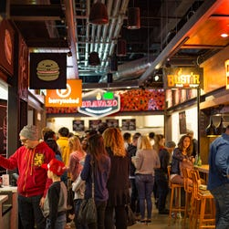 Tour Legacy Food Hall in Plano, Texas