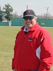 Former Drury head baseball coach Mark Stratton.