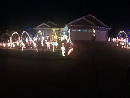 north liberty man faced possibility of fine for christmas lights - When To Take Down Christmas Lights