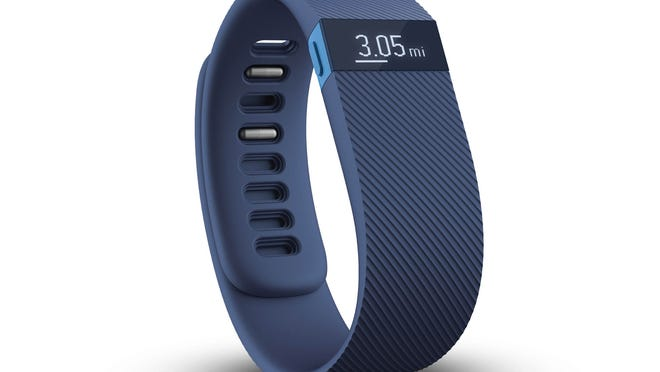 A Fitbit counts steps taken, calories burned and hours slept and shares that information online with an ever-present cheering or jeering social network.