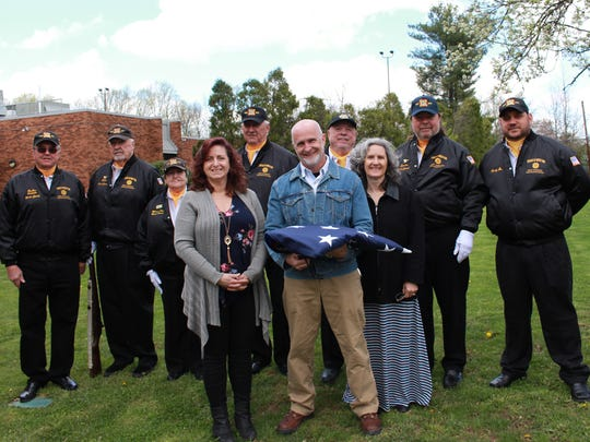 On Sunday, April 29, the South Brunswick Public Library recognized its 50th anniversary, with adedication followed by a celebration.