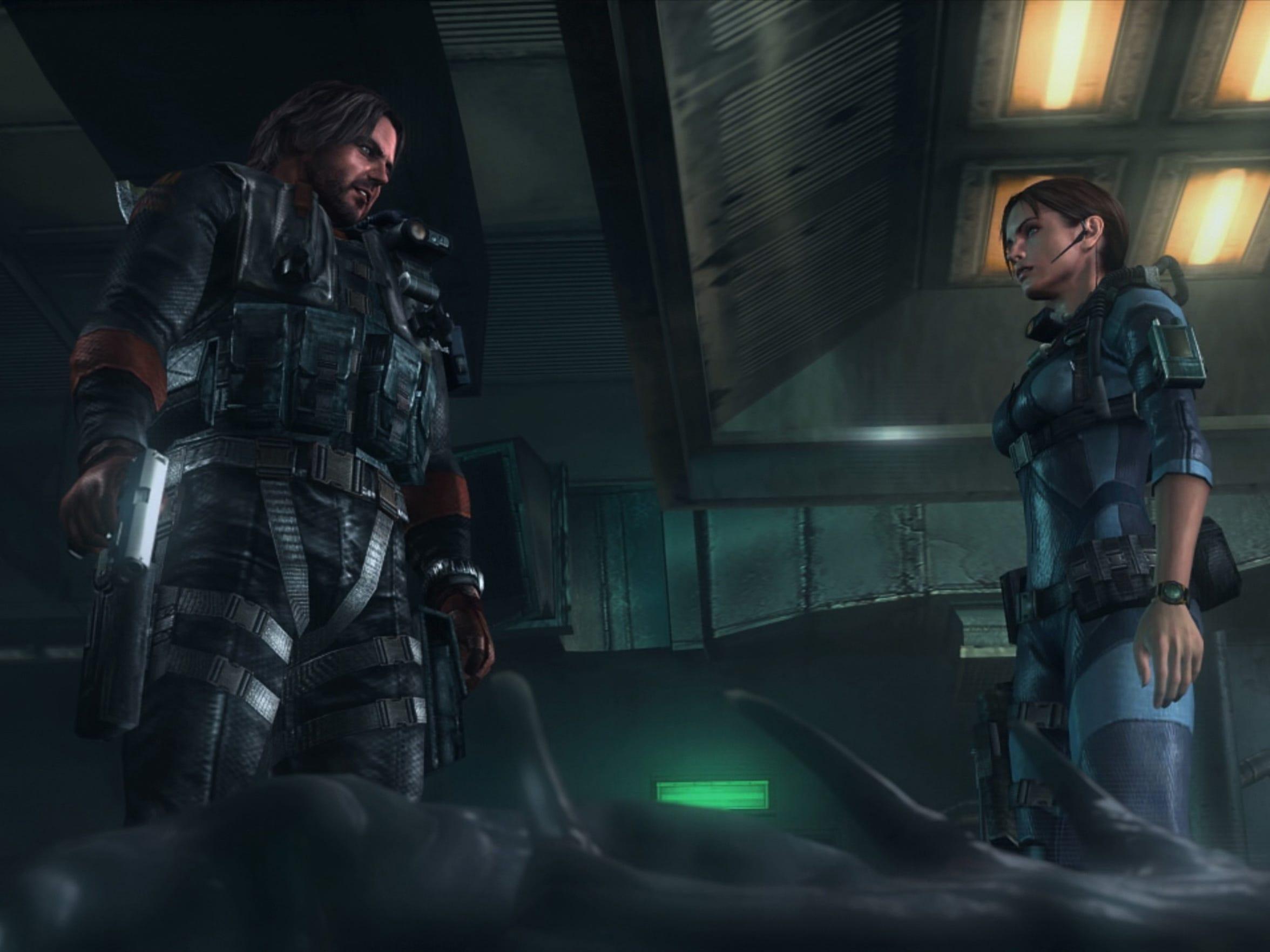 Resident Evil Revelations, PS4.