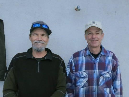 Rocky Hamblock (left) and Bric Hamblock, both of Redding,