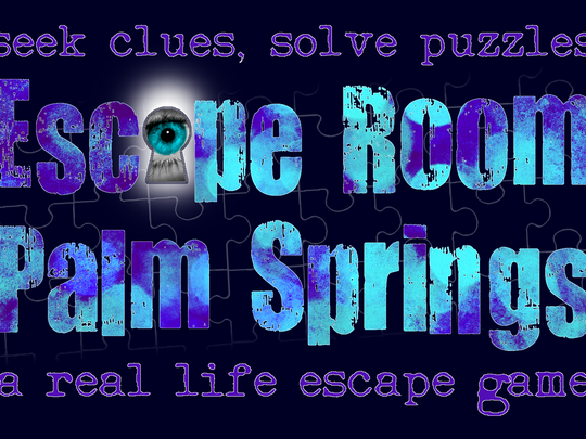 The logo for Escape Room Palm Springs, which will open near Ramon Road and Gene Autry Trail on Oct. 30.