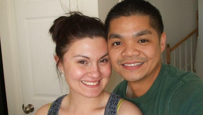 Joann Kurcan and Michael Fernandez pose together here, they planned to marry in August.