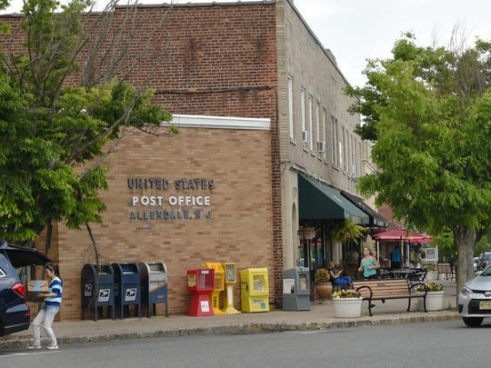 Photo of downtown Allendale on Friday May 19, 2017.