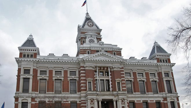 Some defenders in Johnson County are suing the board of commissioners, judges and public defenders, saying they didn't receive adequate legal representation partly because of overburdened attorneys. The Johnson County Courthouse in Franklin is pictured.