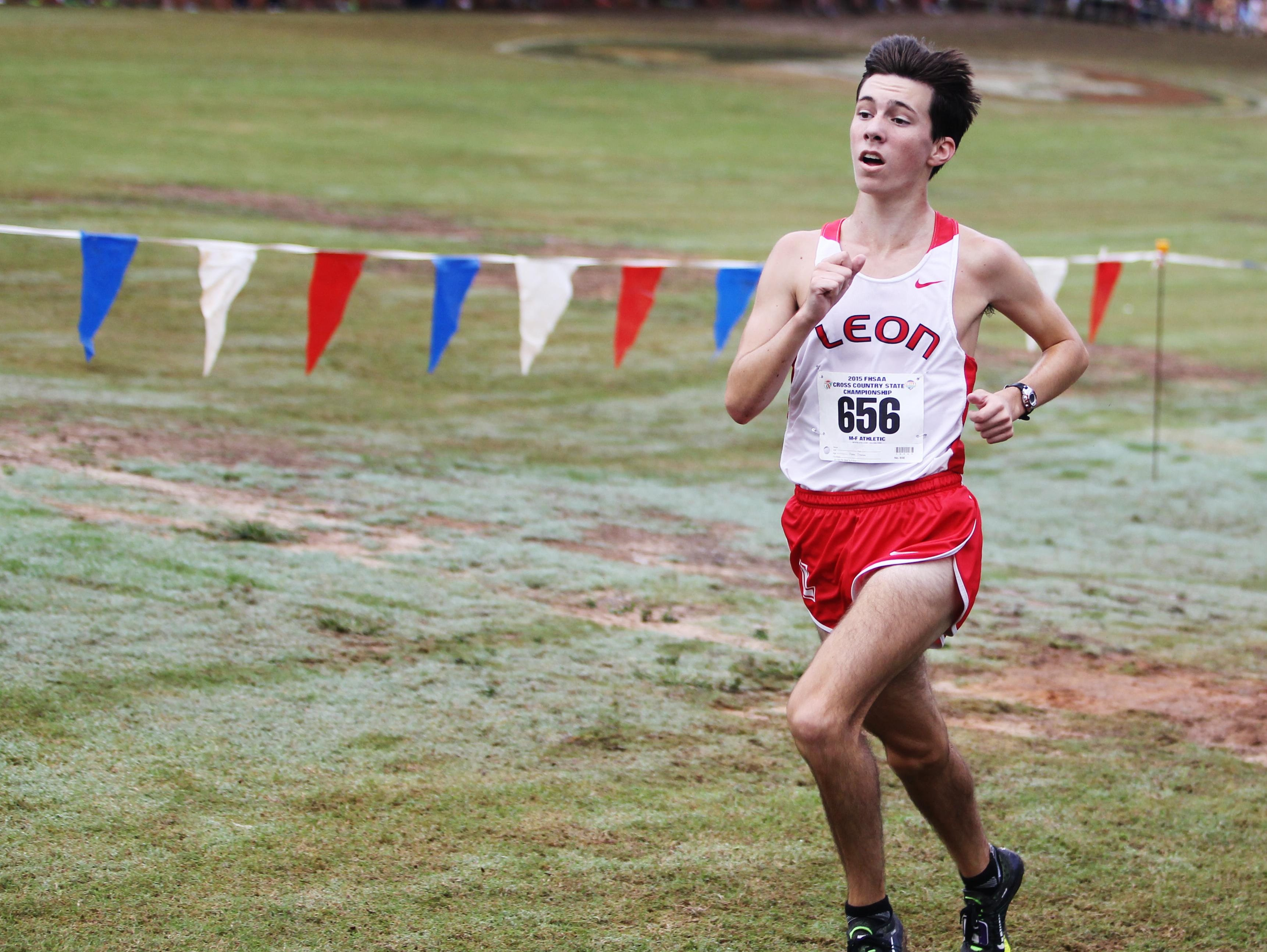 Leon junior Matthew Cashin completed a breakout season by finishing fourth in 3A during Saturday's FHSAA cross country finals.