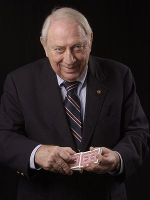 Harry Riser, magician know for the faro shuffle.
