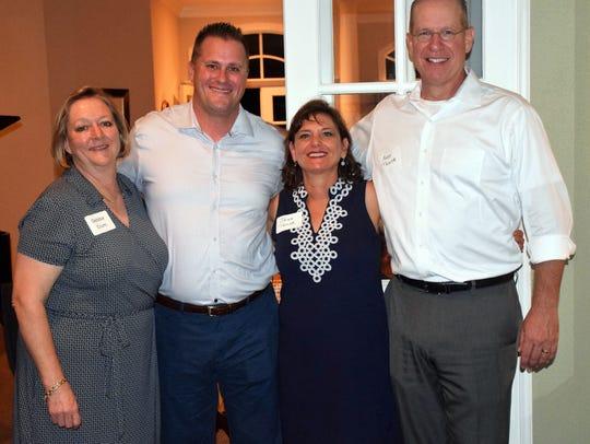 Debbie Crum, Erik Kolacinski, and Jean and Andy Taylor