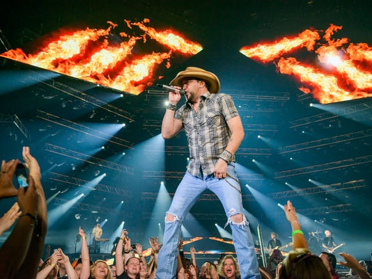 Jason Aldean - Burn It Down Tour 2014