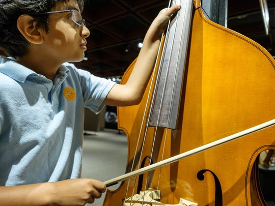 """The exhibition """"Making Music"""" will be on display through Sept. 17 at the Montshire Museum of Science."""