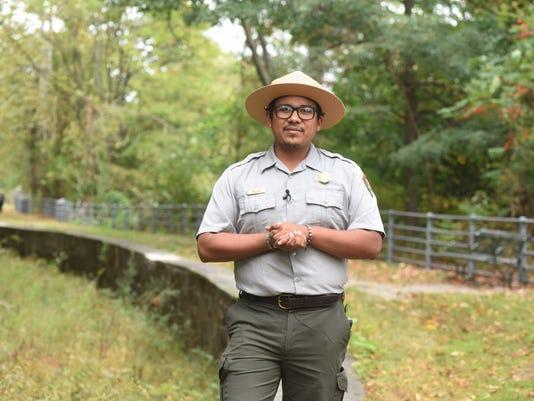 Rehabilitation of Stoney Ridge Trail ribbon cutting ceremony