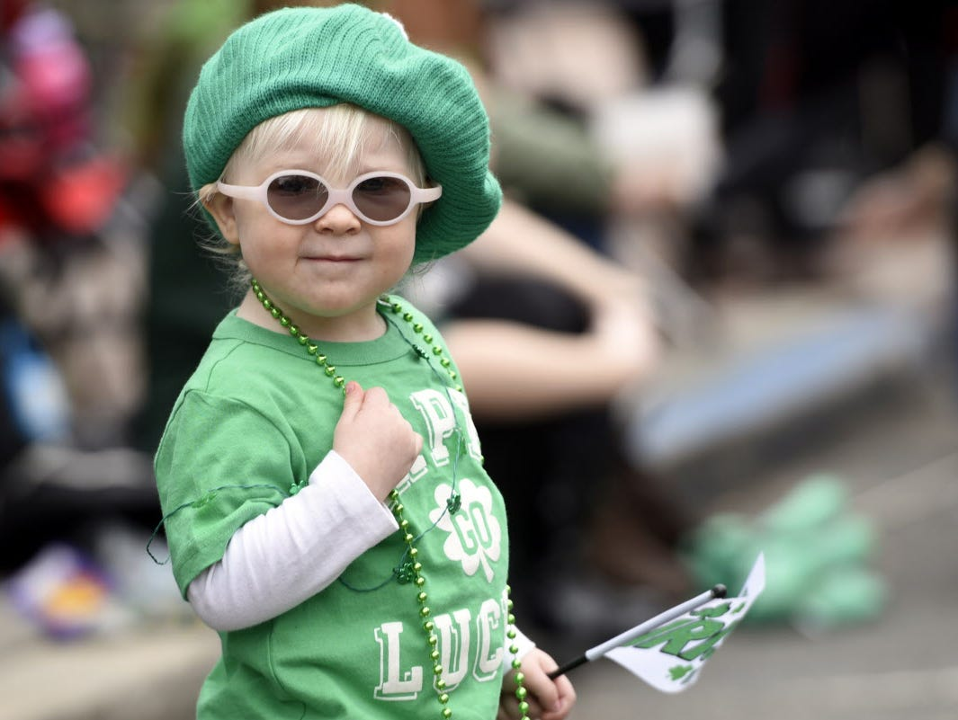 We're all a little Irish on St. Patrick's Day. Check out our gallery of folks, and dogs, dressed to impress.