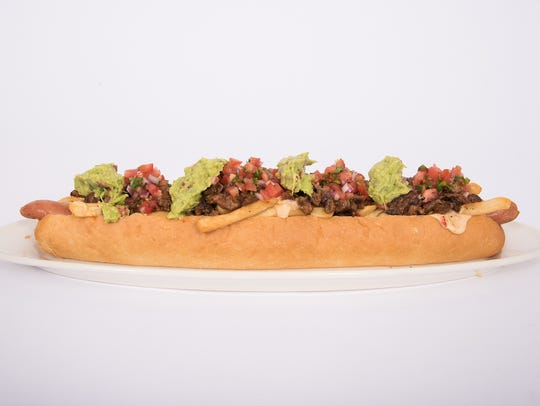 Asada dog at Chase Field.
