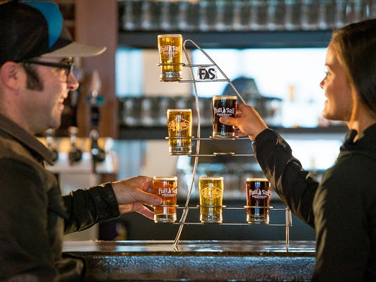 At Full Sail's taproom in Hood River, you're likely