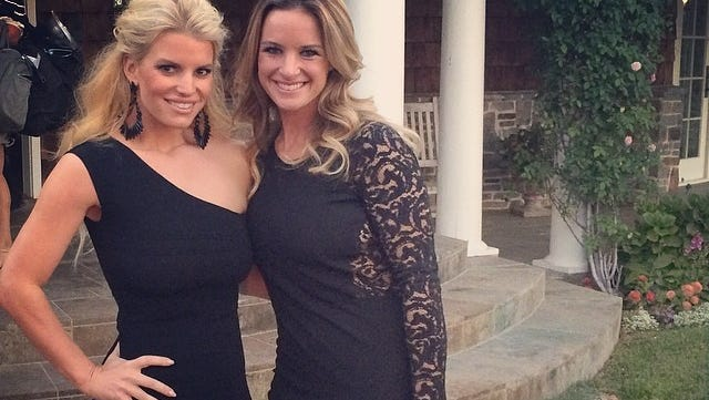 Jessica Simpson shared this photo of herself and a friend on Instagram.