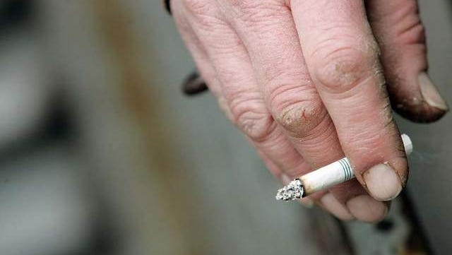 Navy is pushing ahead toward eliminating tobacco sales on all its bases and ships.