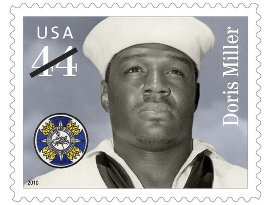 "In 2010, the U.S. Postal Service honored Doris ""Dorie"""