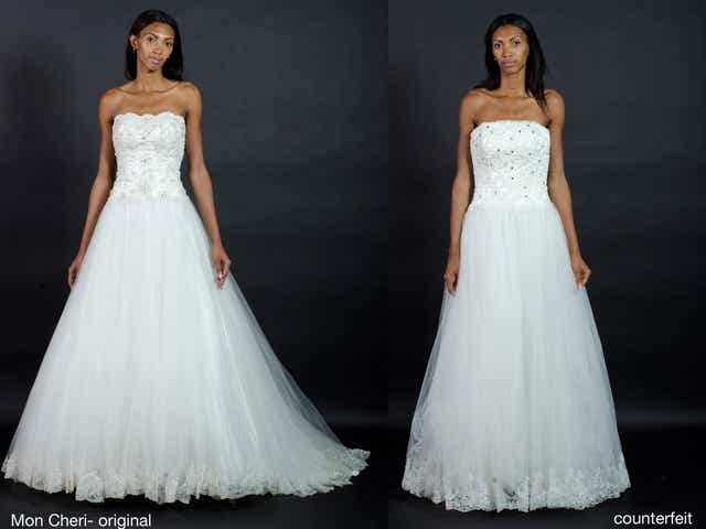 Is Your Wedding Dress A Fake