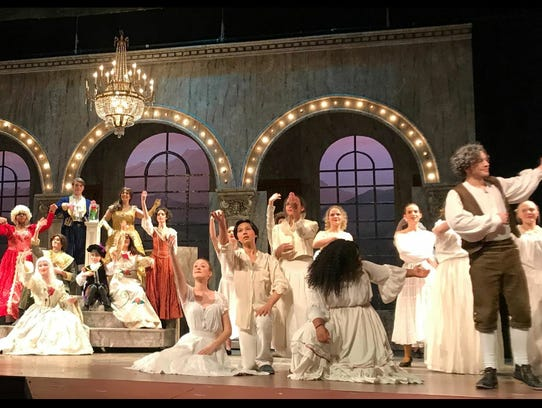 """Sleepy Hollow High School's production of """"Beauty and"""