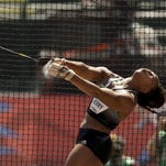 Ole Miss assistant coach Gwen Berry will represent the United States in the hammer throw.
