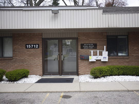 Dr. Fakhruddin S. Attar has an office at the Burhani Medical Clinic building in Livonia.