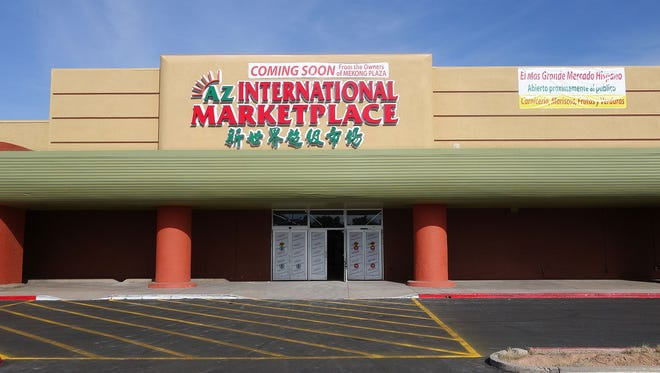 AZ International Marketplace, the new venture from the owners of Mekong Plaza, will bring a 100,000 square foot international marketplace to Mesa this March.