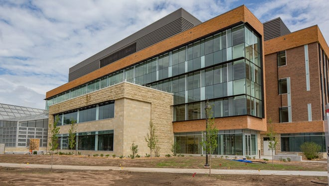 University of Wisconsin-Stevens Point's new chemistry biology building will open this fall.