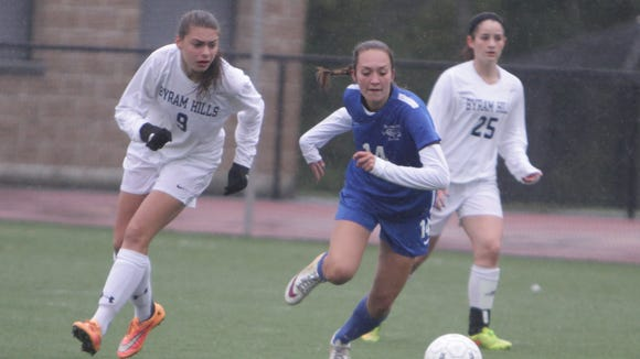 Byram Hills defeated Bronxville 3-2 in overtime in