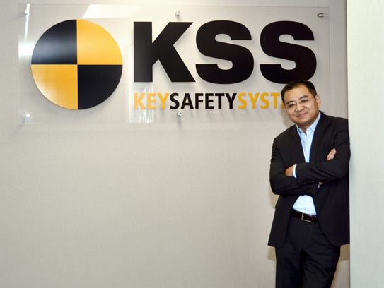 Jason Luo, shown here as the CEO of Key Safety Systems, resigned last month as president of Ford Asia Pacific.