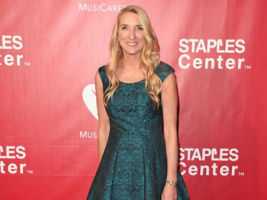 Stuntwoman Jane Austin attends the 2016 MusiCares Person
