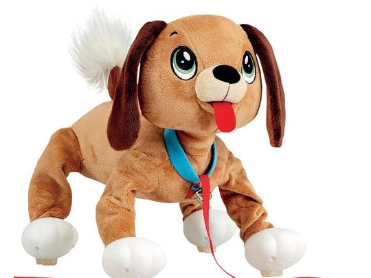 "Peppy Pups are no-tech pet ""dogs"" that you can take on a walk and play with, no batteries (or baggies) required."