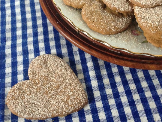Classic Gingerbread Cut-Out Cookies can be decorated