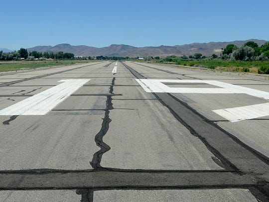 The Yerington Airport will be repaved in spring 2018.