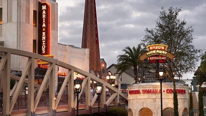 Among the new dining and drinking options at Disney Springs are Maria & Enzo's and Enzo's Hideaway.