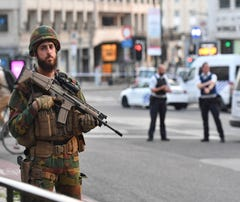 The Latest: Brussels attacker Moroccan, not known for terror