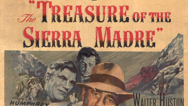 """The 1948 film, """"The Treasure of the Sierra Madre,"""" starring Humphrey Bogart, will be screened on July 2 at Alamo Drafthouse as part of the Film Salon series."""