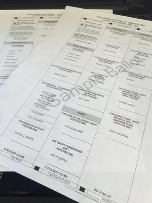 Ballots were to be mailed Friday to Montana voters.