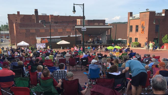 Final Fridays concerts return to The Brickyard in Downtown Mansfield May 28.