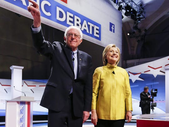 Wins by Hillary Clinton in Ohio and Florida on Tuesday could seal Bernie Sanders fate for the Democratic nomnination