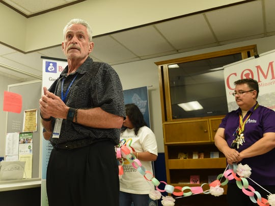 James Gillan, Guam Department of Public Health and Social Services director, is shown in this file photo.