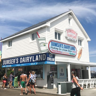 The building which houses Dumser's Dairyland located