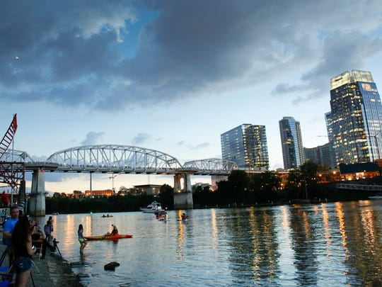 Mayor David Briley wants to commission a $1.3 million study for potential housing and office space development along the East Bank of the Cumberland River.