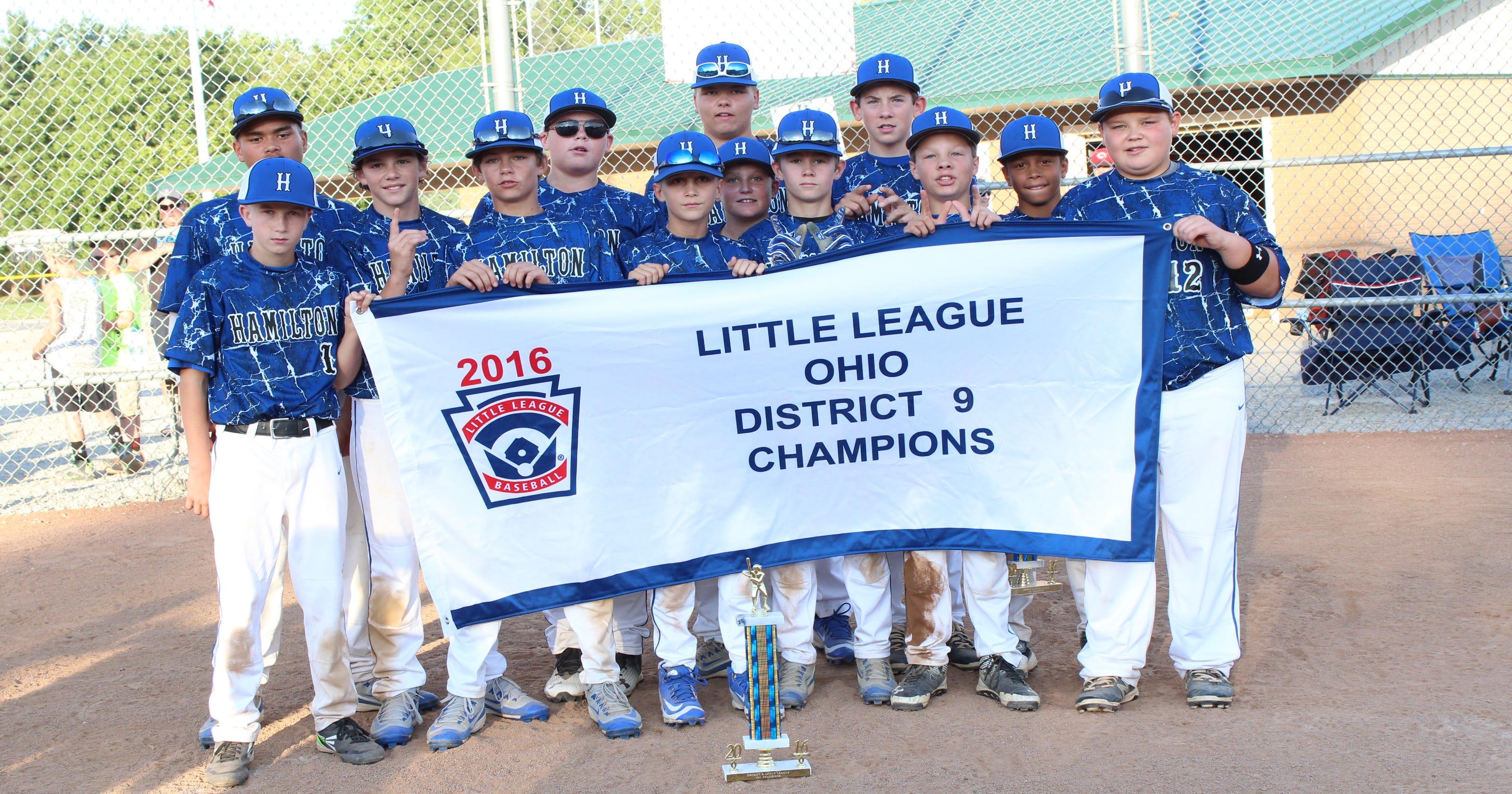 Hamilton All Stars win state Little League title