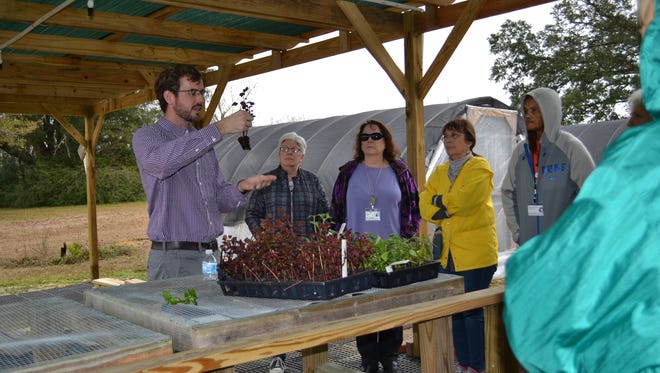 Master gardeners listen to a presentation as part of their training. Recruitment information for the next class will be available in August.