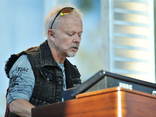 Neal Doughty performed with REO Speedwagon at the 2012 Indiana State Fair.