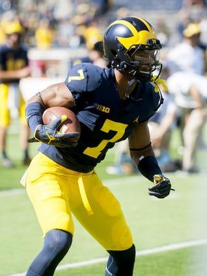 Michigan wide receiver Tarik Black