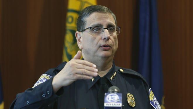 Rochester Police Chief Michael Ciminelli